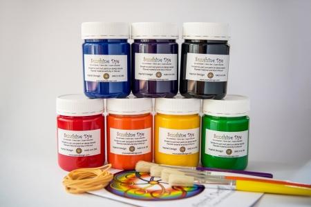 Boys rainbow party Tie Dye kit